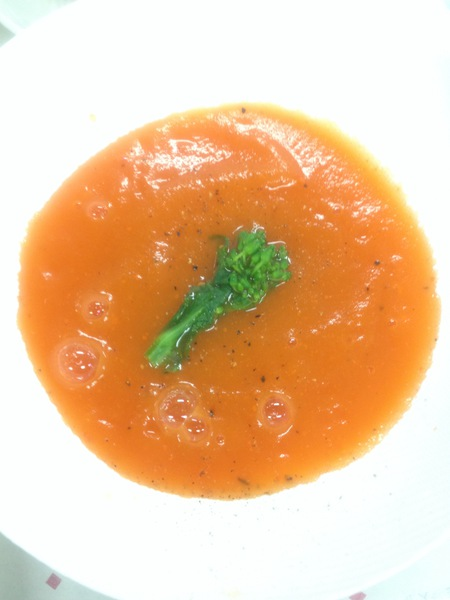 Spring Carrot Soup