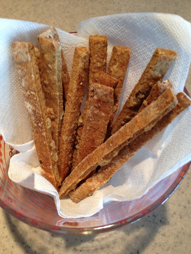 Sake Kasu Crackers