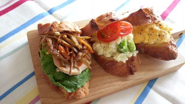 Sandwiches Wafū