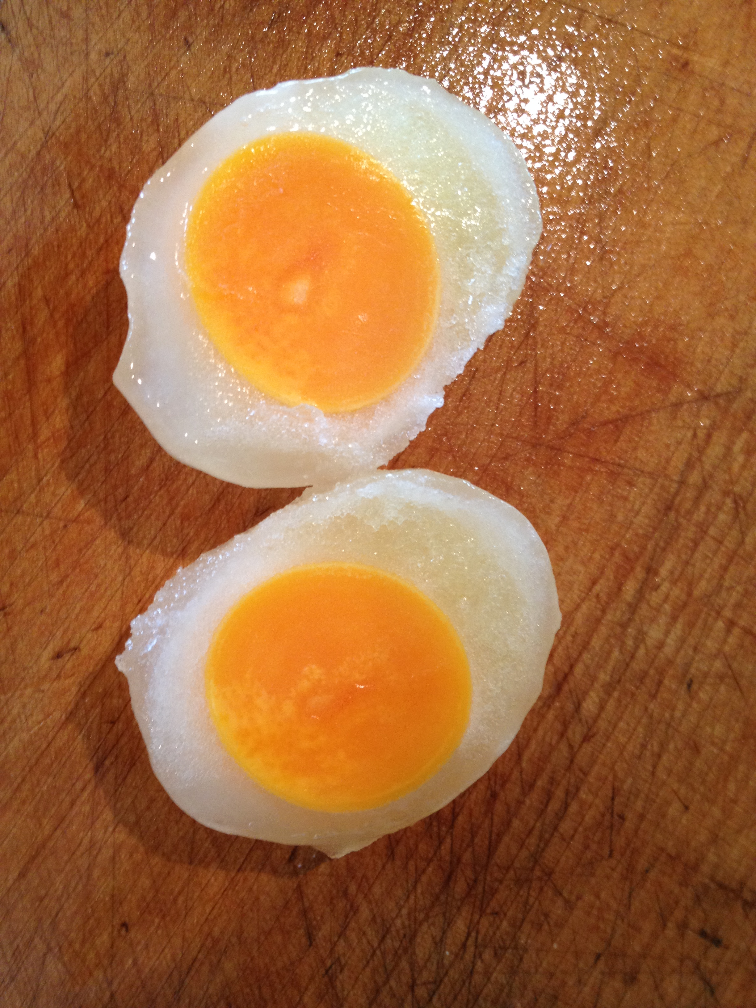 Fried Frozen Eggs Kitchennippon