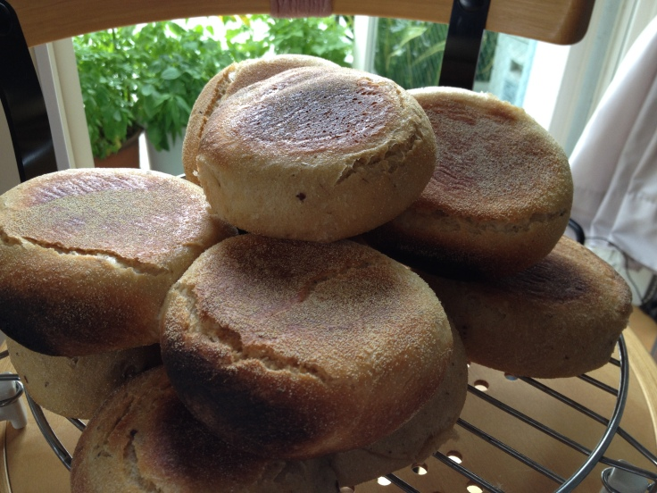 Natural Yeast English Muffins