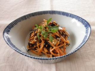 Carrot and Walnut Shiokoji Salad