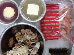 mushroom and sweetpoteto