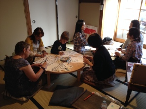 Shinsho calligraphy workshop