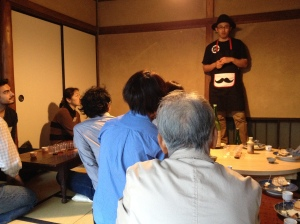 Sake tasting workshop