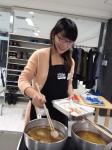 karaage making